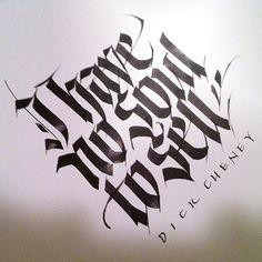 Blackletter by John Stevens Calligraphy Types, Calligraphy Letters, Typography Letters, Caligraphy, Sign Letters, Calligraphy Quotes, Gothic Lettering, Chicano Lettering, Graffiti Lettering
