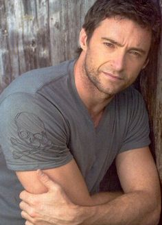 "Senior boy pose."" I know it's Hugh Jackman"""