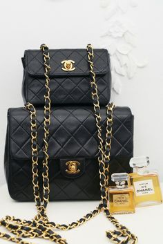 7c3938af59ae Vintage Bags, Vintage Chanel, Chanel Handbags, Chanel Bags, Chanel Fashion,  Pouch, Shoulder Bag, Mini, Stuff To Buy