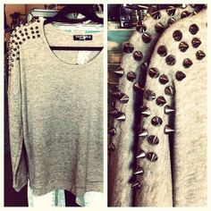 Spiked Sweaters