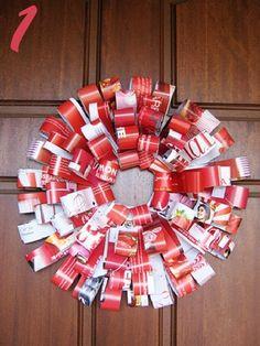 great ideas for DYi christmas wreath