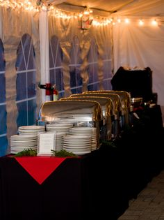 Merrimon-Wynne House - Raleigh NC Wedding Venues -  Wedding Buffet