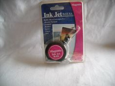 Magenta Ink Jet Refill Kit - for sale at Wenzel Thrifty Nickel ecrater store