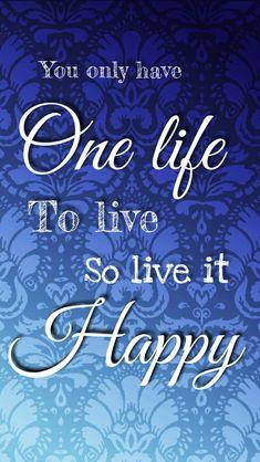 One Life, Arabic Calligraphy, Happy, Ser Feliz, Arabic Calligraphy Art, Being Happy