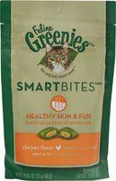 Greenies Feline SmartBites Healthy Skin and Fur Chicken -- 2.1 oz *** Read more reviews of the product by visiting the link on the image.
