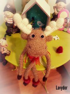 Reindeer crochet