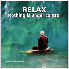 Relax nothing is under control #relax #inspire
