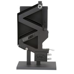 Give a stylish design that fits many home by choosing this excellent US Stove Wiseway BTU Non Electric Gravity Fed Pellet Stove. Pellet Burner, Wood Burning Cook Stove, Wood Pellet Stoves, Pellet Heater, Wood Stove Installation, Pellet Fireplace, Black Dog Salvage, Ikea Living Room, Living Rooms