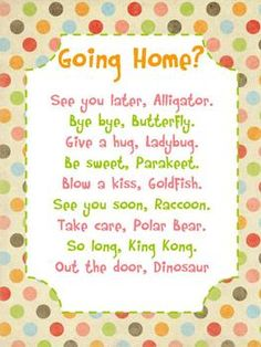 This is a cute sign for younger elementary school kids.  I have it hanging on my door and each day my students say a different phrase to me as ...