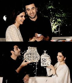 Image discovered by Dreamy Girl✨. Find images and videos about deepika padukone and ranbir kapoor on We Heart It - the app to get lost in what you love. Deepika Padukone Movies, Deepika Ranveer, Deepika Padukone Style, Ranveer Singh, Ranbir Kapoor, Diwali Dp, Happy Diwali, Movie Couples, Cute Couples