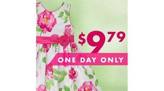 Zulily | Girls' Dresses Up to 75% Off (Today Only) $9.79 (zulily.com)