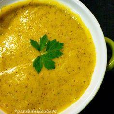 Quer uma receita quentinha para o inverno? Que tal um creminho de inhame com cenoura, super nutritivo e saboroso? Corre para o blog que tem uma fresquinha!