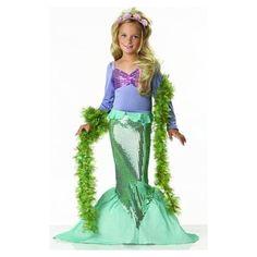 Little Mermaid Halloween Costume for Girls