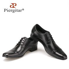 Fashion High Quality Genuine Leather Shoes Men Lace-Up Business Men Shoes Style Pointed Toe shoe Men Dress Shoes