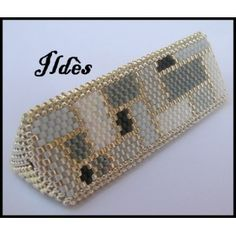 Beaded Bead PATTERN Ildes Pearl Bermuda Tube Triangle click download free