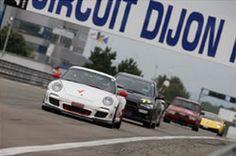 Prenez le volant d'un bolide au Circuit de Dijon Prenois !