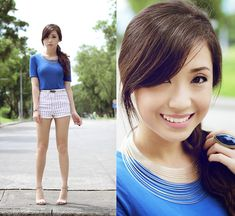 Simple Girl in a Simple World (by Kryz Uy) http://lookbook.nu/look/3938232-Simple-Girl-in-a-Simple-World