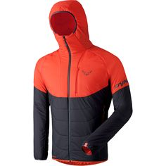 The Radical PrimaLoft® Hooded Jacket is perfect for men who don't want to give up either warmth or freedom of movement on a ski tour. This warm Dynafit ski touring jacket is not only wind- and water resistant, but also extremely...