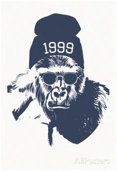 Harambe Hipster- 1999 Posters at AllPosters.com