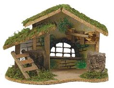 Nativity Stable                                                       … Christmas Grotto Ideas, Christmas Cave, Christmas Crib Ideas, Christmas Manger, Christmas Nativity Scene, Christmas Pictures, Christmas Crafts, Christmas Decorations, Outdoor Nativity Scene