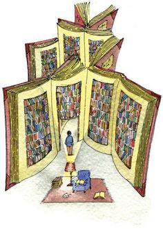 One book leads to another...and this is why kids should read about a destination before the visit! It improves their learning and their reading skills and....leads to another book. Fanastic art by Andrea Musso.