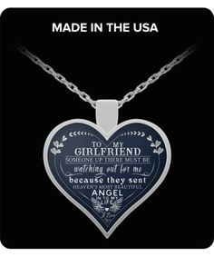 Gifts For Girlfriend Necklace For Girlfriend - Best Gift For Your Girlfriend - Birthday Gift For Gir.