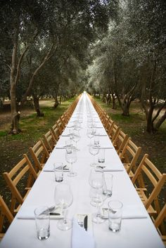 The never ending table. Outstanding In The Field. Photo by Emily Hagen.