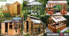 Greenhouse+SHE+Shed+DIY+Kit+Ideas