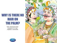 Why There Is No Hair On The Palm, MangoReader celebrating Akbar-Birbal stories Week.