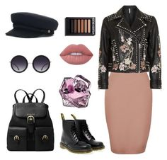 """""""Shter.com"""" by katarinasterenberg on Polyvore featuring мода, River Island, Topshop, Dr. Martens, Alice + Olivia, Lime Crime и MICHAEL Michael Kors"""