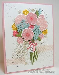 Image Result For Beautiful Bouquet Stampin Up Flower Cards