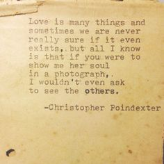 The Universe and Her and I poem 71 by Christopherspoetry on Etsy, $10.00
