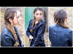 Love this braid!! Katniss' Mockingjay Braid | Hunger Games Hairstyles http://www.youtube.com/watch?v=c8y3dcQ3cQQ