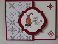 Stampin' Studio, Stampin' Up! Making Spirits Bright ,All is Calm DSP
