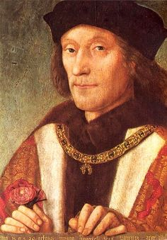 Henry VII, founder of the Tudor dynasty and father of Henry VIII. He killed King Richard III at the Battle of Bosworth, then married Richard's niece Elizabeth