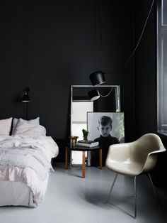 35 Best Black And White Decor Ideas Black And White Design within proportions 3000 X 2513 Black And White Bedroom Decor Images - It might have a few drawer White Bedroom Design, White Bedroom Furniture, Bedroom Decor, Bedroom Black, Bedroom Wall, Bedroom Ideas, Black Bedrooms, Bedroom Images, Bed Ideas