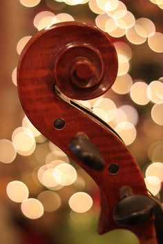 """""""I think the Cello is one of the most soothing, beautiful musical instruments ever created"""".  shared via http://www.sarahtoshreveport.com/2011/12/very-musical-christmas.html"""