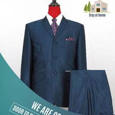 Fitted Suit, Tailored Suits, Mod Jacket, Suit Jacket, 60s Mod Fashion, Mod Suits, Tailor Made Suits, Suit Fabric, Peacock Blue