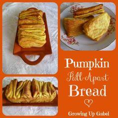 Pumpkin Pull-Apart Bread ~ Growing Up Gabel