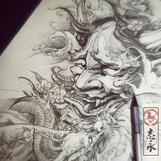 Sieh dir dieses Instagram-Foto von @zhiyong_tattoo an • Gefällt 1,946 Mal