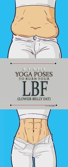 6 Simple Yoga Asanas To Burn Lower Belly Fat