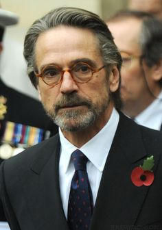 I could listen to him all day. Jeremy Irons