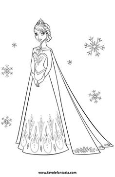 35 FREE Disneys Frozen Coloring Pages Printables Free Printable For Kids