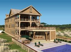 Beach Happy\' is a 14 bedroom vacation rental home located in Kill ...