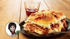 A nice lasagna from Josée di Stasio Confort Food, Pasta Al Dente, Haitian Food Recipes, C'est Bon, Pasta Dishes, Ricotta, Bon Appetit, Lasagna, Food And Drink