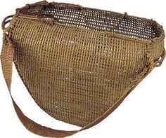 Basket,  British Columbia  Before 1885  Spruce root and red cedar wood