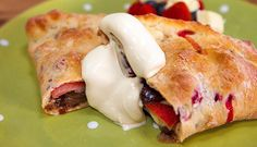 Summer Berry & Nutella Calzone