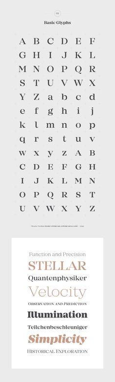 Mirador Typefamily by Rene Bieder