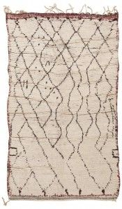 Beni Ourain Rug  http://nazmiyalantiquerugs.com/beni-ourain-rugs-berber-carpets-moroccan-rug/
