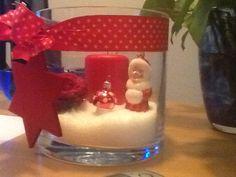 Kerstdecoratie glas